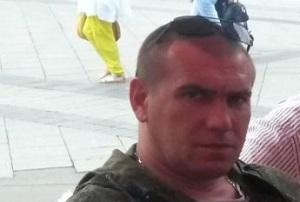 """""""PRISRAK"""" Bataillonskommandeur Sergej I. mit dem Rufzeichen 77"""