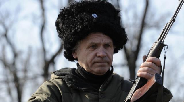 Ein Selbstverteidigungsjäger der Volksrepublik Donezk (DVR). © Sergey Averin / RIA Novosti